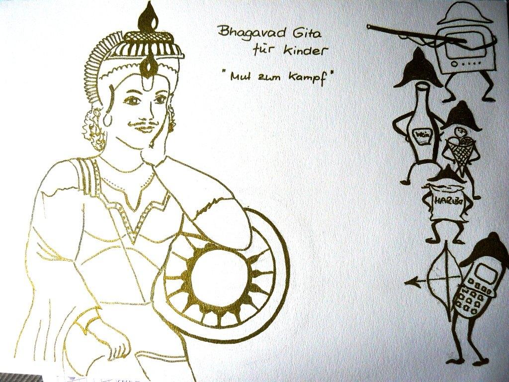 Bhagavad Gita für Kinder heute